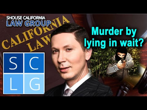 What is murder by lying in wait?
