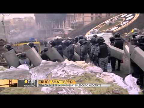 Truce fails, medic says at least 70 protesters killed in Kiev