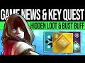 Destiny 2 | SECRET NEW QUEST! MYSTERY KEYS! Bungie Responds, New Perk, Loot Code & More (Spoilers)