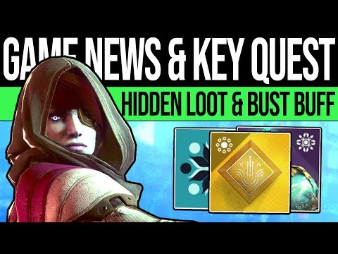 Destiny 2 | SECRET NEW QUEST! MYSTERY KEYS! Bungie Responds, New Perk, Loot Code & More (Spoilers) thumbnail