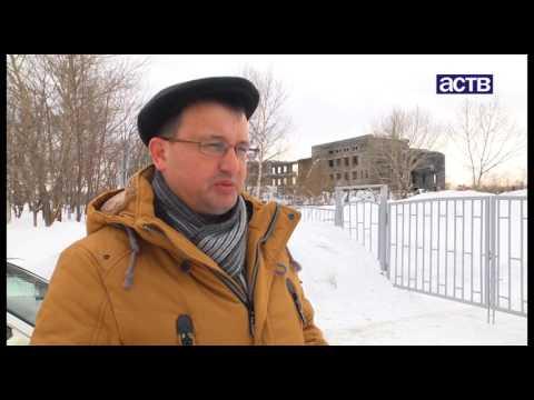 Почти 30 лет спустя в Луговом начали сносить недостроенный корпус местной школы