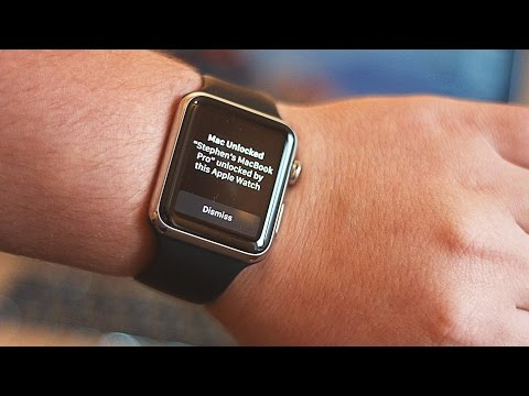 How to use Apple Watch to unlock your Mac in macOS Sierra
