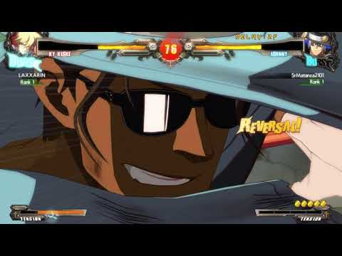 Guilty Gear Xrd: Rev2 - SrMatanza (JO) vs Laxarin (KY)