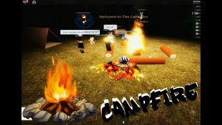 ROBLOX CAMPFIRE NEW HORROR GAME LIKE CAMPING!? | ENDING