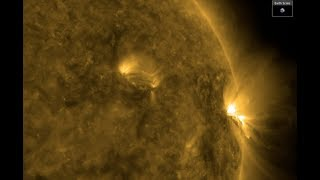 More Solar Flares, Slow Quake, Electric Galaxies | S0 News Jan.30.2019