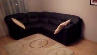 видео диван кожаный