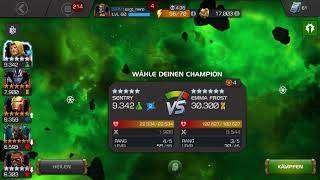 Mcoc Fight against Emma Frost one  shot