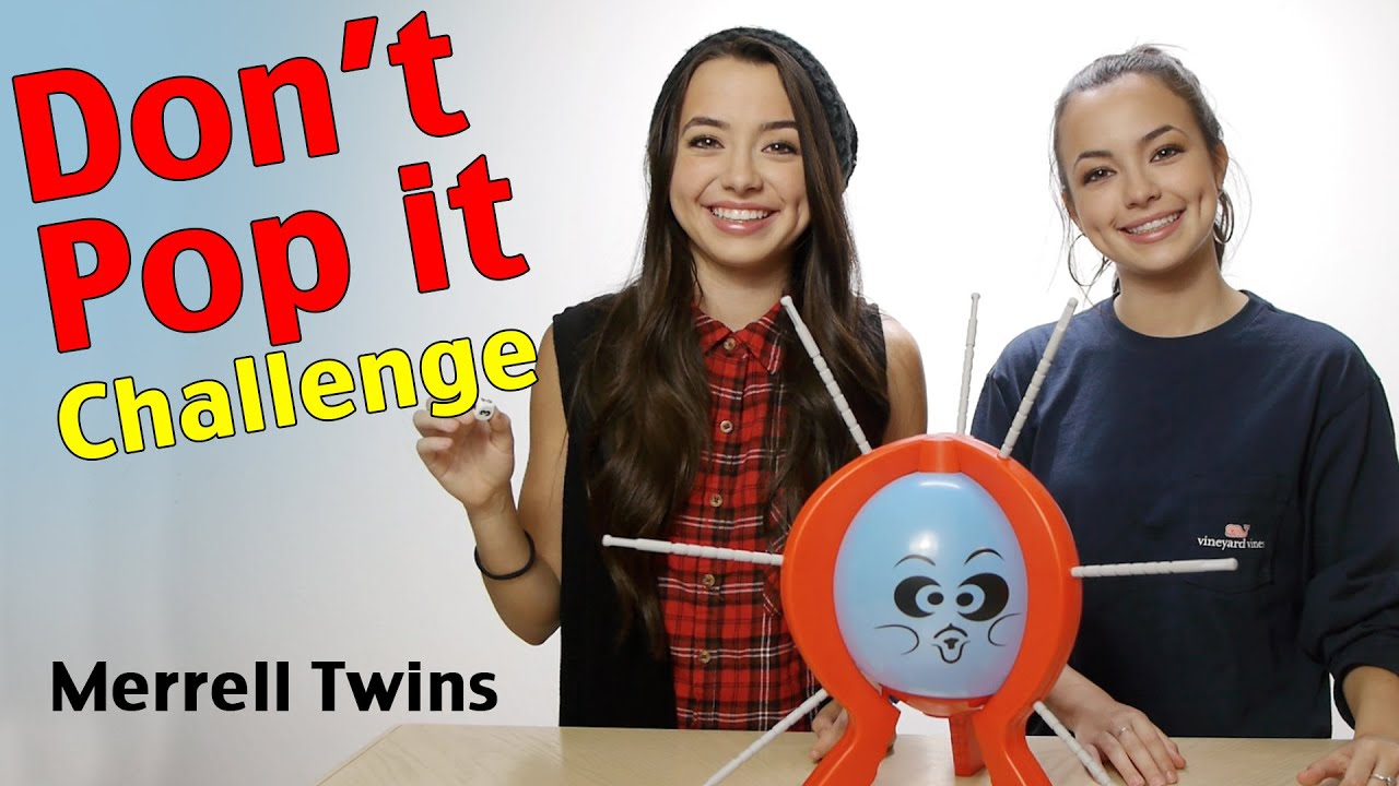 DON'T POP IT CHALLENGE - Merre...