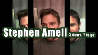 Stephen Amell  3 down. 7 to go