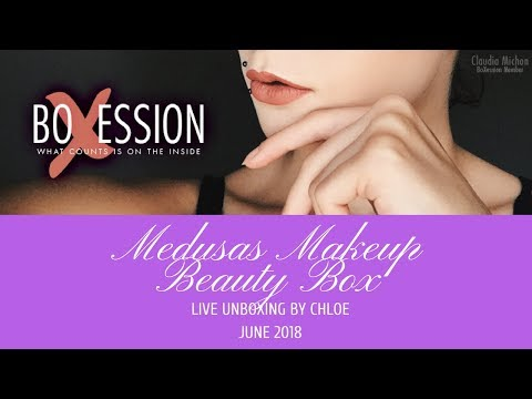 Medusas Makeup Beauty Box Review By Chloe June 2018