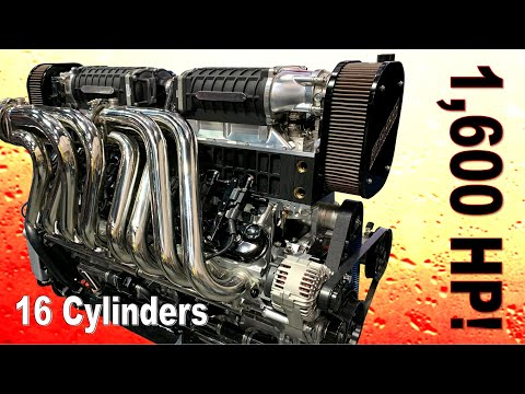 10 Unbelievable Engines from the Performance Racing Industry Show (2019)