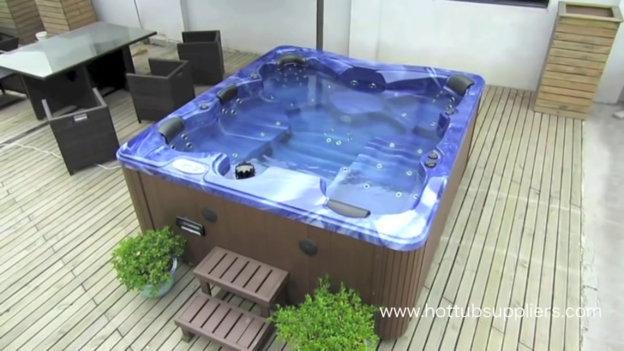 Balboa Hot Tub >> The Zspas Poseidon Balboa 6 Seater Hot Tub Exclusive To Hot Tub