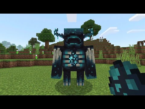 How to Summon the WARDEN in Minecraft PE
