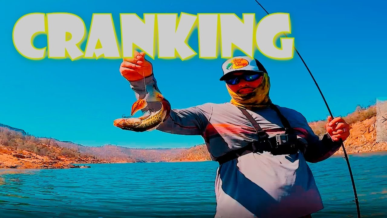 Bass fishing crankbait millerton lake youtube for Fresno fishing report 2017