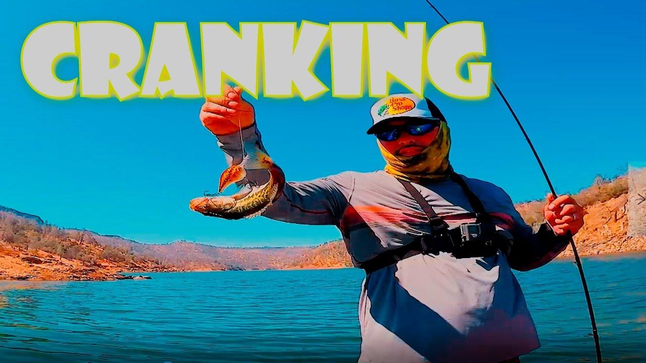 Bass fishing crankbait millerton lake youtube for Millerton lake fishing