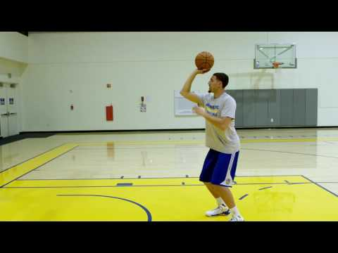 Learn to shoot more consistently with Klay Thompson of the Golden State Warriors. Watch now.