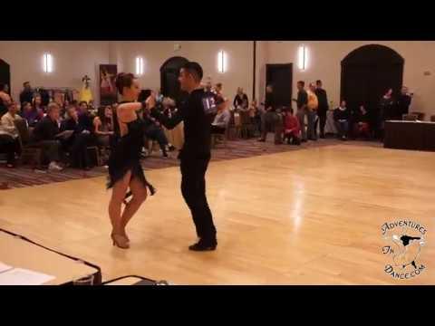 Robyn William Latin Denver Dancesport Jam