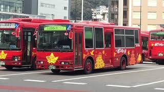 めいぷる〜ぷ(中国JRバス) エアロミディ(広島200 か 23-83)走行音