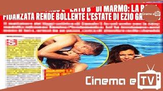 Ezio Greggio e Romina Pierdomenico / Foto: vacanza