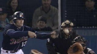 Davis' bunt single breaks up Schilling's perfect game in 2001