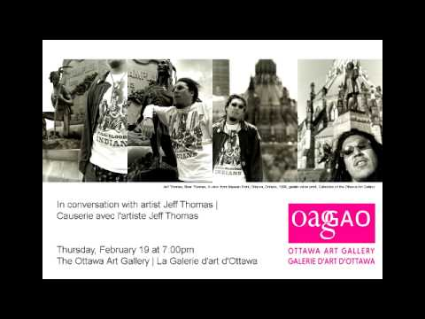 In conversation with artist Jeff Thomas | Causerie avec l'artiste Jeff Thomas