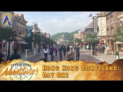 Attractions Adventures - 'Hong Kong Disneyland: Day One' - March 3, 2017