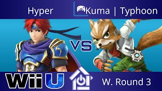 Typo @ The Lab 10/5/17 - Hyper (Roy) vs Kuma | Typhoon (Fox) - Smash 4 W. Round 3