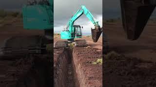 Ultra Wide Tracks Excavator #shorts