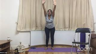 19-05-2021 - Hatha Yoga With Bhavnaben Jogi
