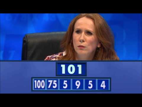 Catherine Tate on 8 out of 10 Cats Does Countdown