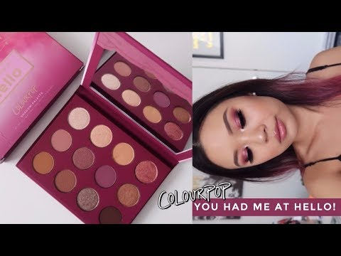 COLOURPOP YOU HAD ME AT HELLO •  3 Looks, Review + Swatches