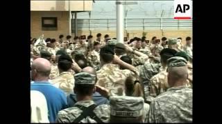 UK hands over control of Basra, US give up base in Baghdad