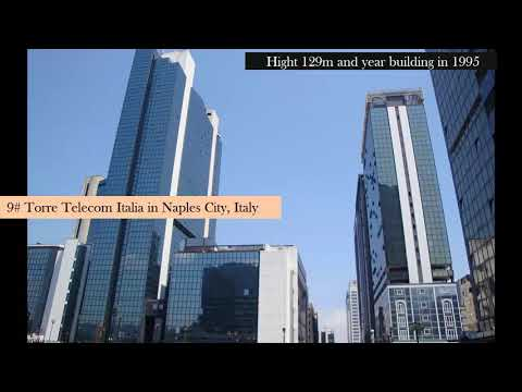 Italy: Top 31 Tallest buildings in Italy |  Top 31 high buildings in Cities of  Italy