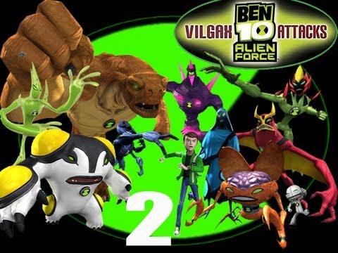 Ben 10 Alien Force Full Video Game Walkthrough English ...