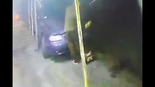 En segundos roban batería a auto en Ecatepec