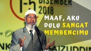 Dr. Zakir Naik, Dulu Aku Sangat Membencimu 💥 Wanita Mualaf Ini Minta Maaf Di Depan Umum || 2018