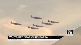 Dny NATO 2018 - nácvik Bílo-červené jiskry