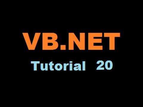 VBNET Tutorial 20 Embedding The Windows Media Player Control In A Visual Basic NET