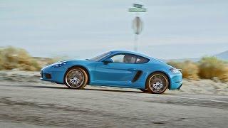 2017 Porsche 718 Cayman S - Official Video