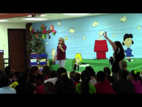 Guadalupe Co. 4-H Ambassador Speech at Vogel Elementary