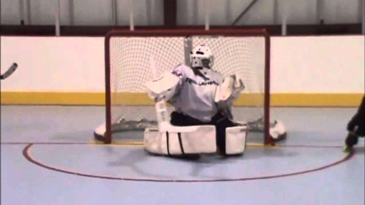 Bionic Goalie Part 1 Rollerfly Hit Hockey Goalie Slide Pads Play