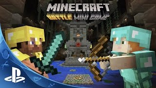 Minecraft Battle Mini game - Gameplay Trailer | PS4, PS3, PS Vita