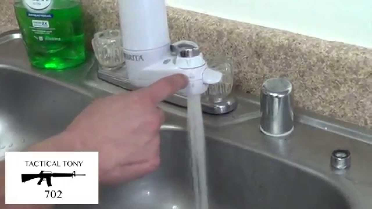 BRITA FAUCET WATER FILTER - YouTube