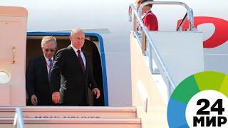 Путин прилетел в новый саратовский аэропорт Гагарин