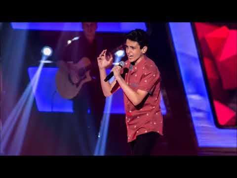 Guilherme Porto cantou &39;Romântico Anônimo&39; na 3ª Temporada do The Voice Kids Brasil 2018