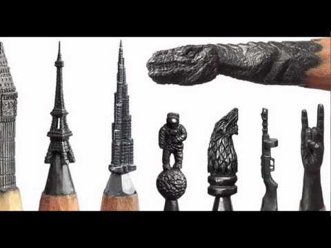 Amazing ‪#‎Pencil‬ sculpture art by Hungarian artist Dalton Ghetti