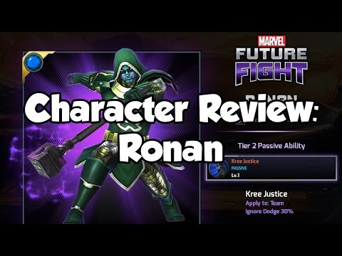 [Marvel Future Fight] Character Review: Ronan