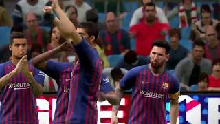 #PES2019 ONLINE MACTH Barcelona  | GAME PLAY