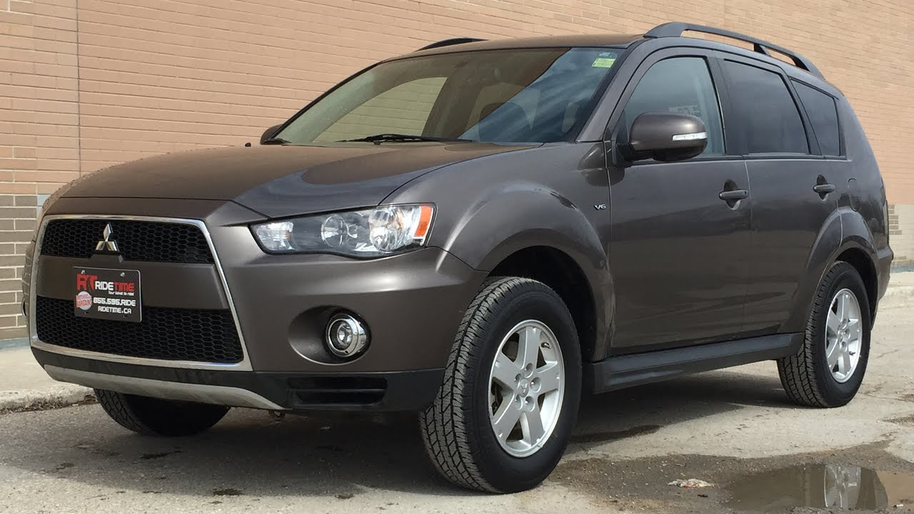 2012 mitsubishi outlander ls 4wd alloy wheels backup. Black Bedroom Furniture Sets. Home Design Ideas