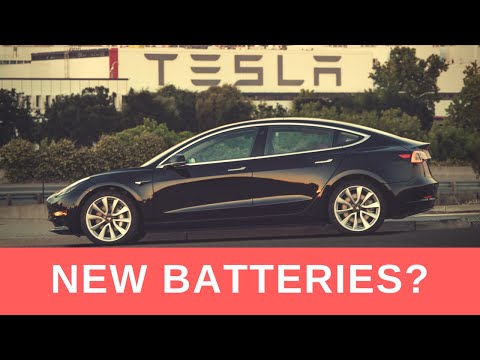 Tesla Model 3 Gets New Battery Cells (4416) - Teslanomics Li